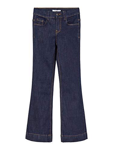 NAME IT Girl Bootcut-Jeans Stretch 122Dark Blue Denim