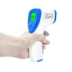 Forehead Infrared Thermometer,FDA Certified,Non Contact Digital Forehead Thermometer,Most Accurate Forehead Temporal Thermometer for Adults Baby
