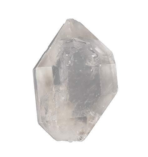 Herkimer Diamant - Cristal de roca (22 x 30 x 12 mm, doble punta)