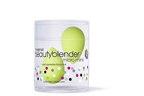 beautyblender Micro Mini sponge applicator, green, 1er Pack (1 x 2 Stück)