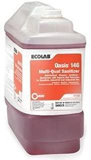 Ecolab 17708 Sanitizer, Commercial Ecolab Oasis 146 Multi Quat Sanitizer, Blasts Dangerous Pathogens (2.5gl)