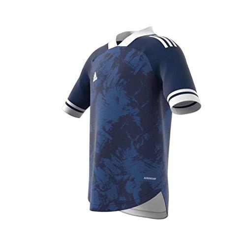 adidas Condivo 20 Jersey Camiseta, Niños, Team Navy Blue/White, 164