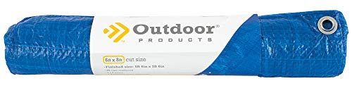 Outdoor Products Plastic Tarp (6 ft x 8 ft)