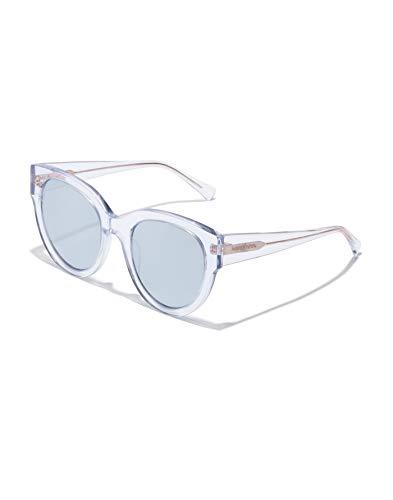 HAWKERS LOIRA Gafas de sol, Transparente/Gris, Talla única Unisex Adulto