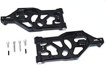 GPM ARRMA-1//5 KRATON 8S BLX-ARA110002T1//T2 Aluminum Front Lower ARMS 8PC Set Black