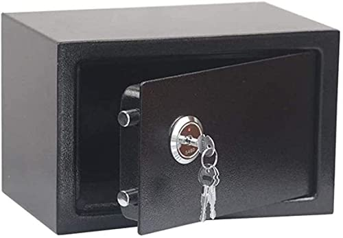 Caja fuerteCXSMKP All-Steel Safe Office Home Pequeña Llave Armario antirrobo Mecánico Teléfono Móvil Teléfono Móvil Joyería Factura Gabinete de Almacenamiento