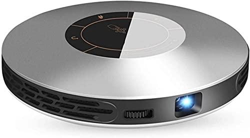 WEDF Proyector para Exteriores, proyector de películas HD Compatible con 1080P, proyector de Cine en casa con Altavoz de Alta fidelidad, Compatible con HDMI, USB