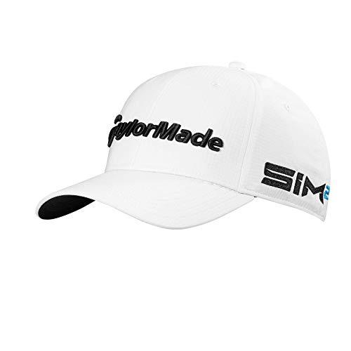 TaylorMade Tour Radar, Cappellino da Golf Uomo, Bianco, Taglia Unica