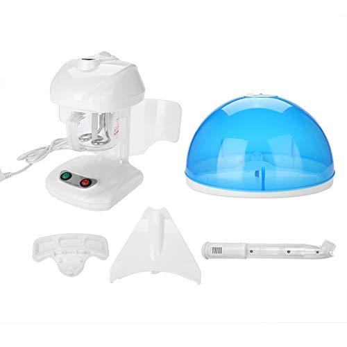 2 en 1 - Pulverizador de 220 V para rostro y cabello, vapor caliente y...