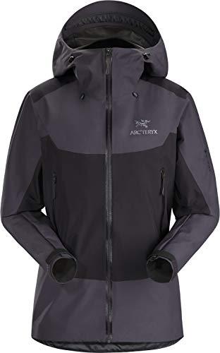 Arcteryx W Beta SL Hybrid Jacket Colorblock-Lila, Damen Gore-Tex Regenjacke, Größe S - Farbe Whiskey Jack