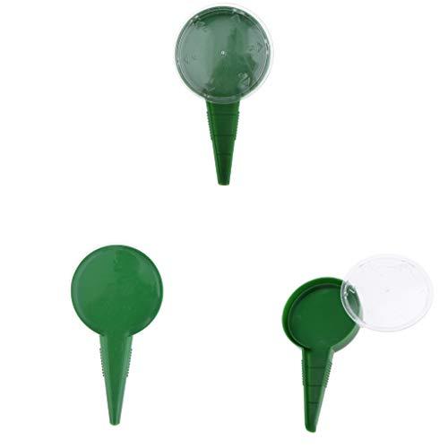 Amuzocity Strumento per Seminatrice A Mano da Giardinaggio Portatile con Dispenser per Seminatrice per Seminatore 3pcs