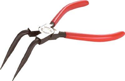 KTC(京都機械工具)『曲型ロングスナップリングプライヤ穴用(SCP-172LL)』