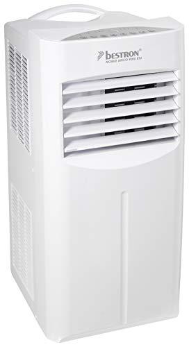 Bestron AAC9000 Summer Breeze ventilator met zwenkfunctie, timer en afstandsbediening, 1010 W, 240 V, wit