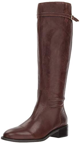 Franco Sarto Women's Belaire Equestrian Boot, Brown, 8.5 M US