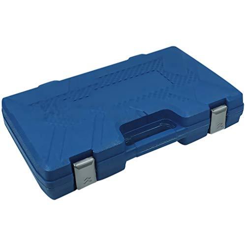 VICASKY Medidor de Presión de Aceite Herramienta de Prueba de Compresión Kit de Prueba de Compresión de Motor Mecánico (Azul)