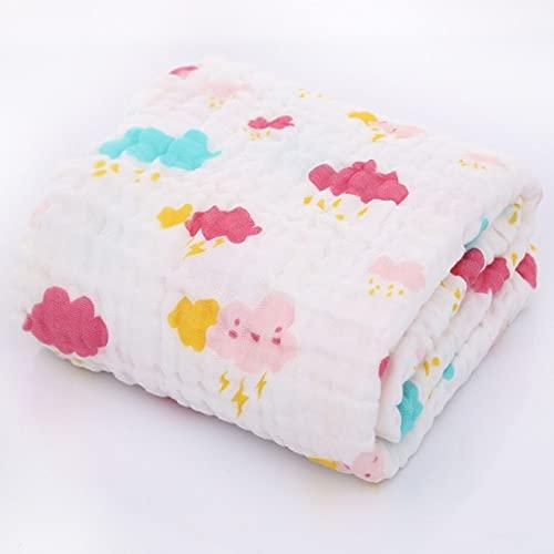 UKKO Bedsure Mantas para Sofás de Franela 6 Layers Bamboo Cotton Infant Swaddle Wrap Blanket Sleeping Warm Quilt Bed Cover Muslin Blanket