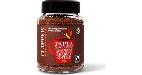Clipper Papua New Guinea Rich Roast Single Origin Arabica Coffee, 100g