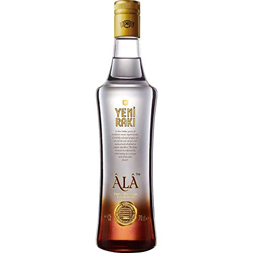 Yeni Raki Ala Triple Distilled Raisin Raki (1 x 0.7 l)