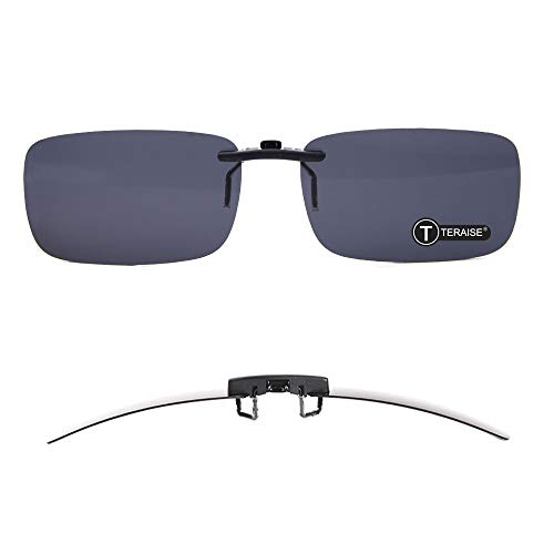 Polarized Clip-on Sunglasses Over Prescription Glasses Anti-Glare UV404 for Men Women Driving Travelling Outdoor Sport …