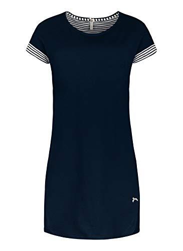 Short Stories Damen Sleepshirt Nachthemd, blau, L