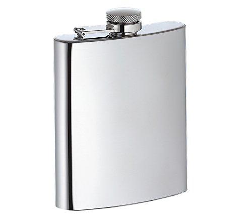 Cilio 304008 Taschenflasche poliert