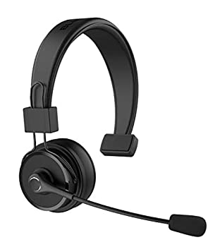 Blue Tiger Elite Ultra Wireless Bluetooth Headset – Truckers' Professional Headset - Noise Cancellation Bluetooth 5.0 Head Set – 60 Hours Talk Time 1200 Hours Standby – Premium Truckers Accessories