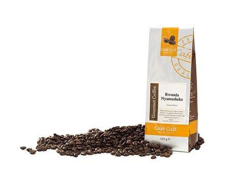 Kaffee - Ruanda Nyamasheke in 1 kg Tüte, ganze Bohne