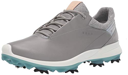 ECCO Women's Biom G3 Gore-TEX Golf Shoe, Wild Dove, 11-11.5