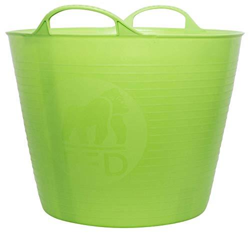 TubTrug SP26PST Medium Pistacio Flex Tub, 26 Liter