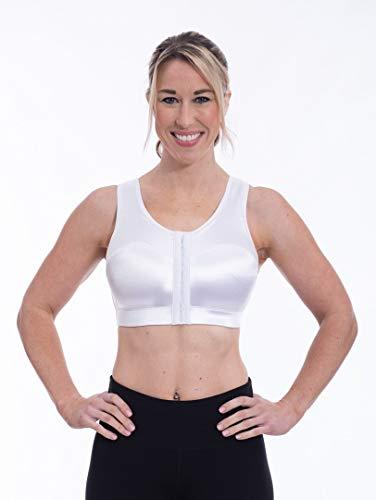 Enell Women's High Impact Sports Bra, White, 3