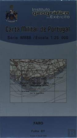 Carta Militar de Portugal (esc.1:25 000) nº 611 - FARO