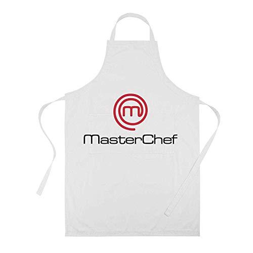 profesional ranking Delantal de poliéster Clapper Master Chef-Adult, Material Master Chef TNT NO WOVEN elección