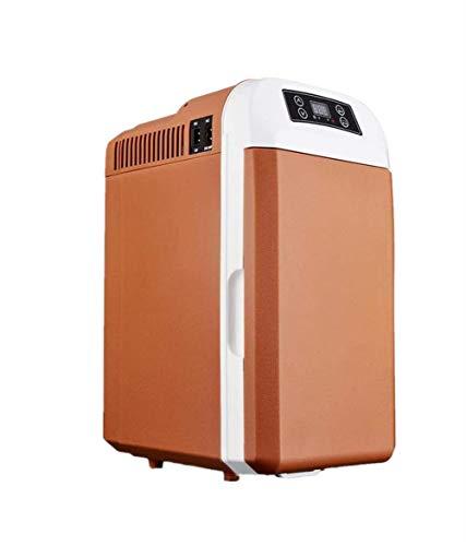 ZL Mini Nevera portátil, 28L Coche de refrigerador del Coche más Fresco Fresco eléctrico Cajas para Camiones de Larga Distancia de conducción Camping Viajes Mini Bar