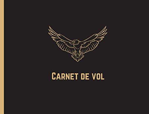 Carnet De Vol ULM:   Format 20 cm x 15,2 cm   120 Pages   Carnet de suivi de votre activité et vos entraînements de pilote   Carnet idéal pour les pilotes professionnels comme les amateurs