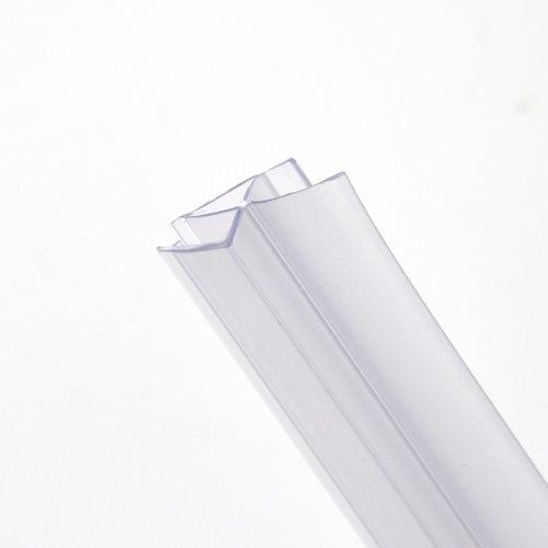 Junta flexible para mampara de ducha de 90 cm, grosor del cristal de 4 a 6 mm, espacio para el sellado de 12 a 16 mm: Amazon.es: Juguetes y juegos