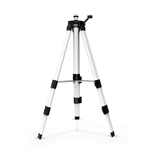 1 m nivel láser trípode ajustable 360 grados altura espesar trípode soporte para autonivelación