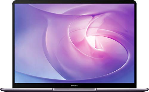 HUAWEI MateBook 13 2020 - 13 Zoll Laptop 2K FullView Display Ultrabook, AMD Ryzen 5 3500U, 8GB RAM, 256 GB SSD, Fingerabdrucksensor, Huawei Share, Windows 10 Home, grau