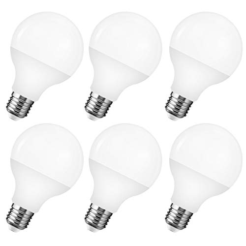 LEHASI G25 Vanity LED Light Bulb, 12W(80W Equivalent),...
