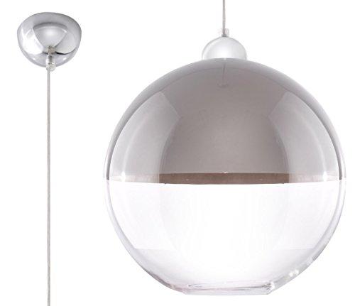 Lámpara de techo LED ready E-27 CASA OFICINA - LATINO grey NL.0271