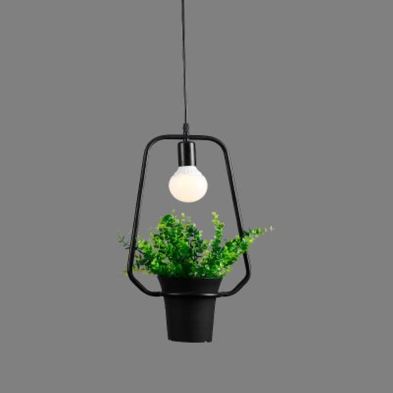 Luckyfree Retro Pflanzen Kreative einzelne Blaumen Pendelleuchte Zimmer Bar Cafe Restaurant Küche Flur Lampen Deckenleuchte Kronleuchter, G+Bubble