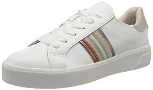 Tamaris Damen 1-1-23750-24 Sneaker, Weiß (White Comb 197), 39 EU