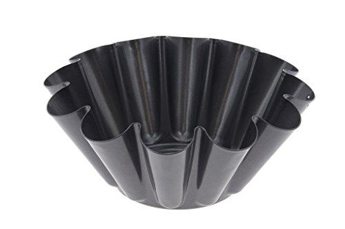 DE BUYER -4702.22 -brioche anti adhesif 22cm- 12 cotes