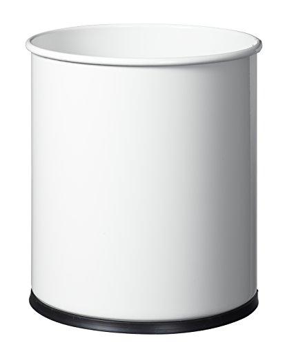 Rossignol Papea Corbeille A Papier Metal-15L Blanc signalisation, Métal, 27x27x30 cm