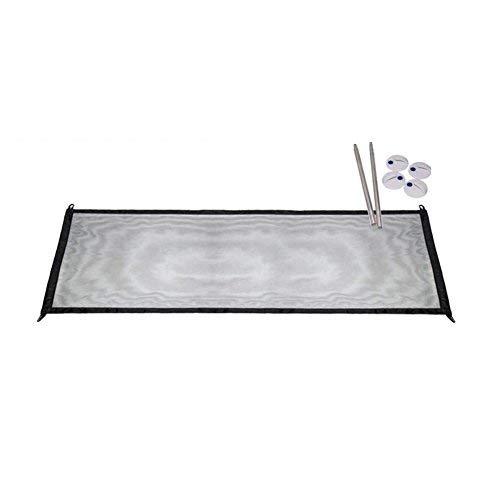 RUNFUN Sicherheits-Türtasche für Hunde und Katzen, Faltbar, Tragbar, Deckel für die Sicherheitsdecke für Haustiere