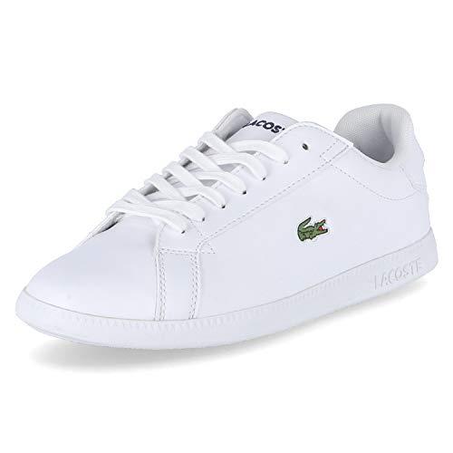 Lacoste Womens Graduate BL 1 SFA Sneaker, Weiß (White/White), 38 EU
