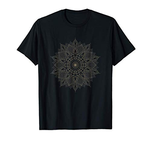 Mandala Yoga Meditación Entrenamiento para el yo interior Camiseta