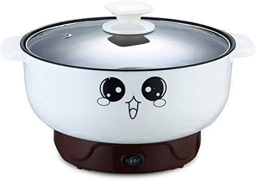 フライパン 4-in-1多機能電気フライパン ステンレス ノンスティック ミニ加熱鍋 茶碗蒸し 調理揚げ (直径26CM 3.6L)