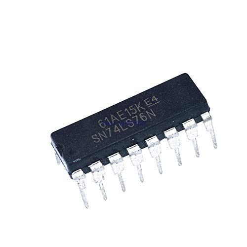 DBParts for New 10Pcs SN74LS76N 74LS76 DIP-16 Integrated Circuit IC