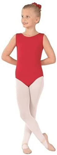 eurotard 1089 ild Fully Lined Front Tank Leotard, rot, Medium by eurotard