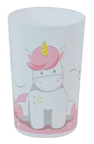 Fun House 005685 - Bicchiere a forma di unicorno per bambini